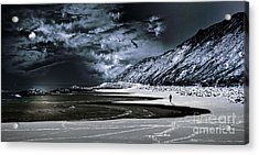 Deep Into That Darkness  Acrylic Print by Stelios Kleanthous