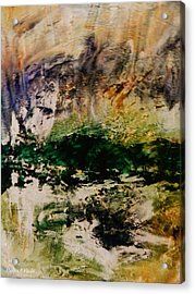 Deep Longing Acrylic Print by Marina R Vladis