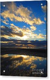 Deep Reflection Acrylic Print by C Lythgo