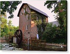 Deep River Mill Acrylic Print
