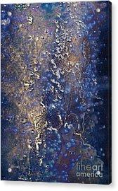 Deep Sea Abstract Acrylic Print by Lee Craig