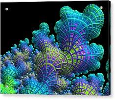 Deep Sea Coral Acrylic Print