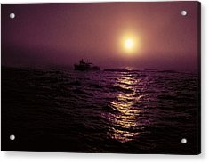 Deep Sea Fishing Off West Port Wa II Acrylic Print