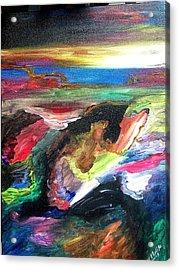 Deep Search Acrylic Print