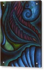 Deep Acrylic Print by Susan Will