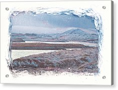 Deep Winter Acrylic Print by Carla Woody
