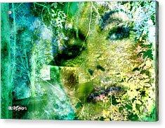 Acrylic Print featuring the digital art Deep Woods Wanderings by Seth Weaver