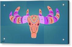 Deer 3 Acrylic Print by Mark Ashkenazi