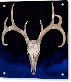 Deer Skull Acrylic Print by Michael Creese