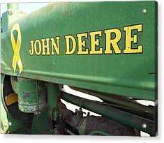 Deere Support Acrylic Print