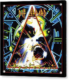 Def Leppard - Hysteria 1987 Acrylic Print by Epic Rights