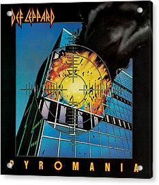 Def Leppard - Pyromania 1983 Acrylic Print by Epic Rights