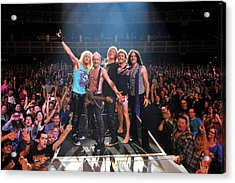 Def Leppard - Viva! Hysteria At The Hard Rock 2013 Acrylic Print by Epic Rights