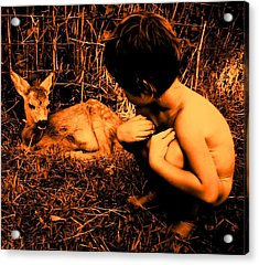 Acrylic Print featuring the photograph Defenseless  by Giuseppe Epifani