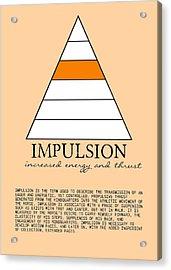 Impulsion Defined Acrylic Print by JAMART Photography
