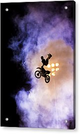 Defying Gravity Acrylic Print by Caitlyn  Grasso