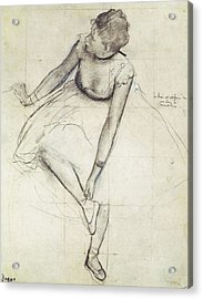 Degas, Edgar 1834-1917. A Dancer Acrylic Print by Everett