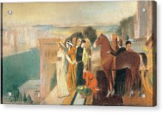 Degas Edgar, Design For Semiramis Acrylic Print by Everett