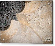 Degoyler Limestone Acrylic Print