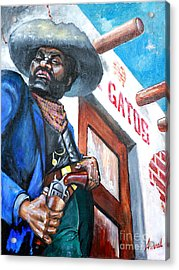 Del Gato's Place Acrylic Print by George Ameal Wilson