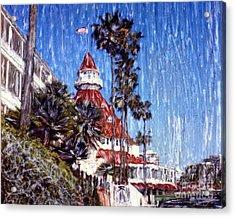 Del Impressionism Acrylic Print
