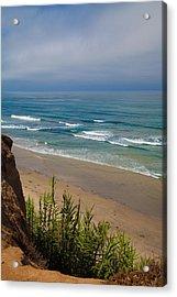 Del Mar Beach Acrylic Print