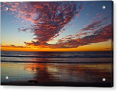 Del Mar Sunset 14 Acrylic Print