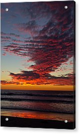 Del Mar Sunset 16 Acrylic Print