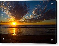 Del Mar Sunset 7 Acrylic Print