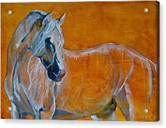 Acrylic Print featuring the painting Del Sol by Jani Freimann