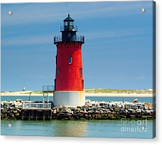Delaware Breakwater Lighthouse Acrylic Print