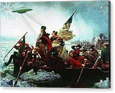 Delaware Ufo Acrylic Print