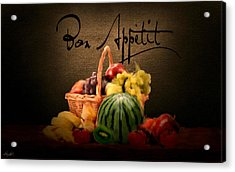 Delectable Sight Acrylic Print by Lourry Legarde