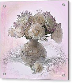 Delicacy Acrylic Print by Betty LaRue