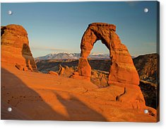 Delicate Arch, Arches National Park Acrylic Print by Roddy Scheer