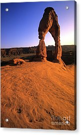 Delicate Arch Acrylic Print by Bob Christopher