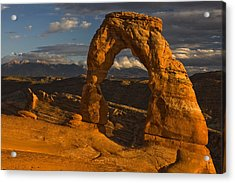 Delicate Arch Acrylic Print by Mark Kiver