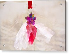 Delicate Dance - Impressionistic Dancer Acrylic Print