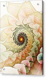 Delicate Wave Acrylic Print by Anastasiya Malakhova
