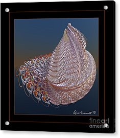 Delicate Wrap Acrylic Print