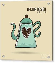 Delicious Coffee Design Acrylic Print by Gst