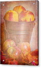 Delicious  Acrylic Print by Heidi Smith