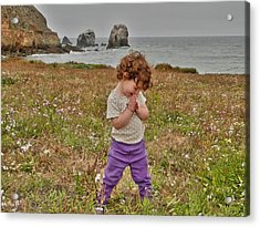 Acrylic Print featuring the photograph Delight by Nick David