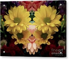Acrylic Print featuring the photograph Delightful Bouquet by Luther Fine Art