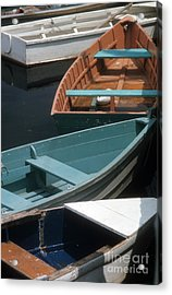 Delightful Dinghies Acrylic Print by ELDavis Photography
