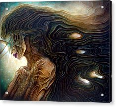Delphic Zombie Acrylic Print
