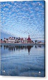 Buttermilk Sky Acrylic Print
