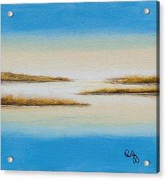 Delta Autumn Reeds Acrylic Print