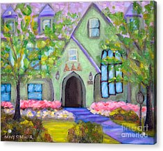 Delta House Acrylic Print