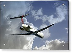 Delta Jet Acrylic Print by Brian Wallace